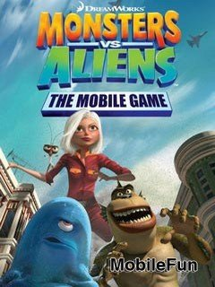 Monsters vs Aliens The Mobile Game (Монстры против Пришельцев)